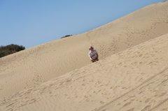 Долгая дорога в дюнах...