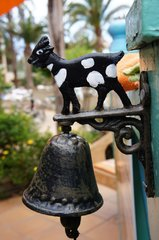 Сувенирный канарский колокольчик