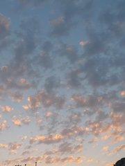 Небо над Амадоресом. Перед закатом.