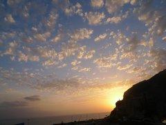 Закат. Вид из Терраса Амадорес.