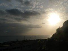 Вид из номера Терраса Амадорес. Перед закатом