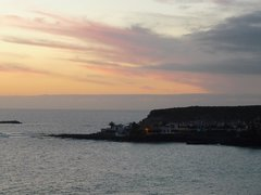 Sunset La Caleta