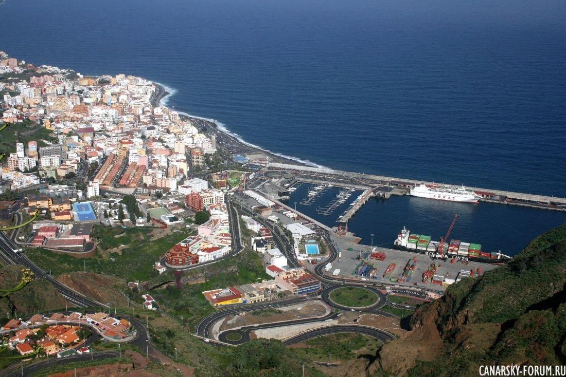 Santa Cruz - столица острова La Palma