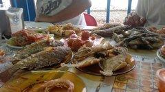 Столовая в рыбацком поселке Аргенегин
