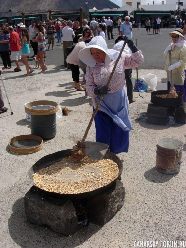 Mancha Blanca воскресный рынок
