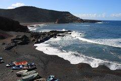Вулканические пляжи. Лансароте