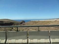 Видно соседний остров Тенерифе