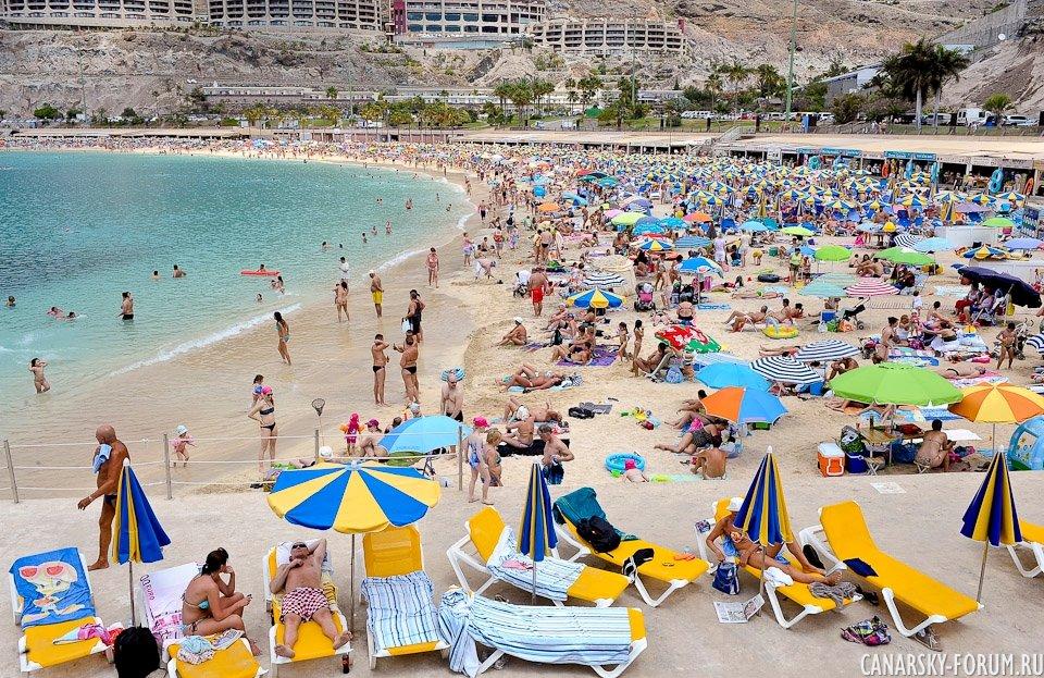 Католическая Пасхальная неделя. Пляж Амадорес