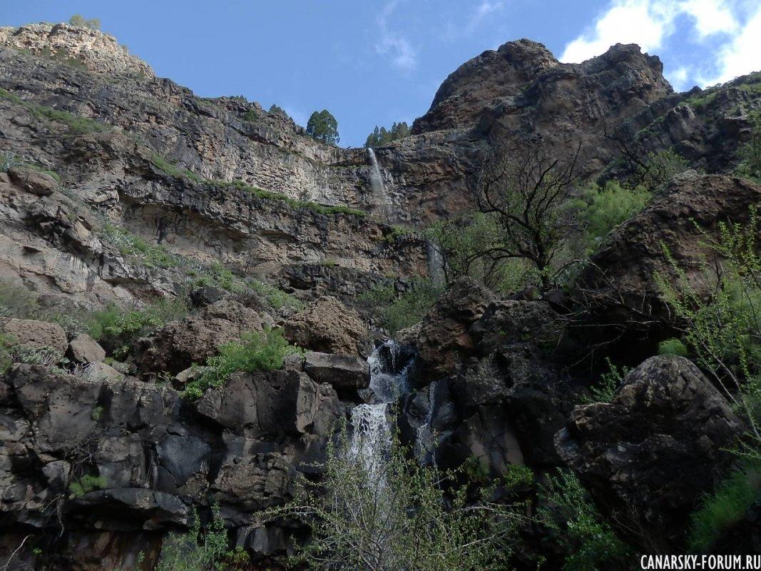 Горные водопады...