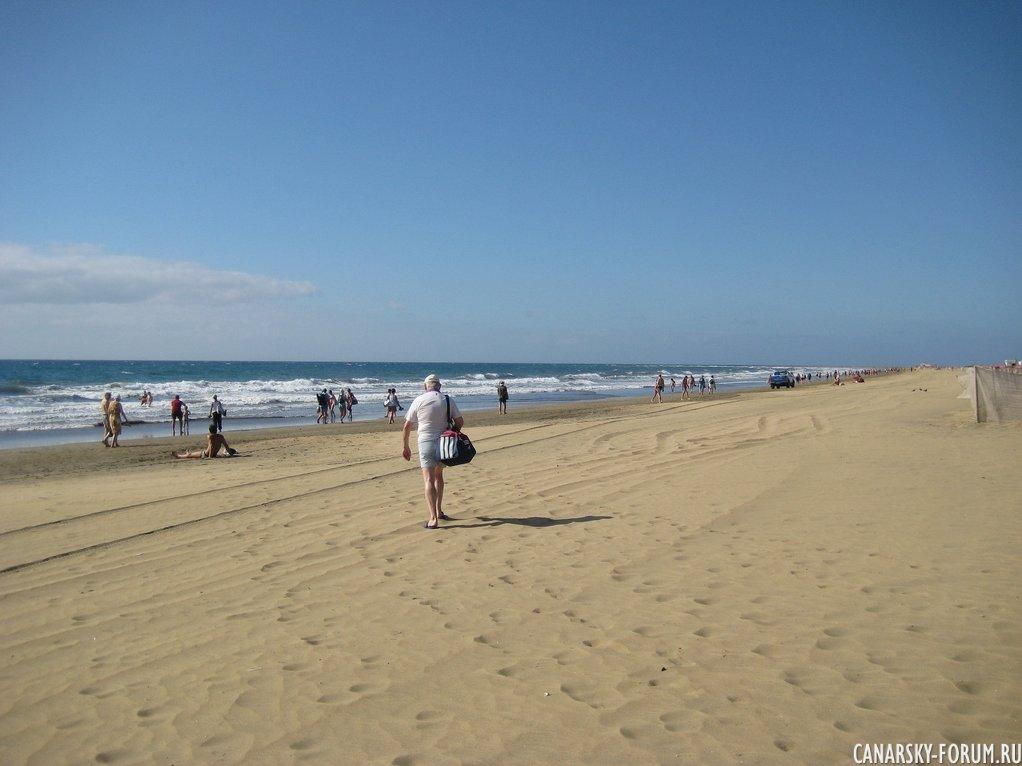 Прогулка по пляжу...