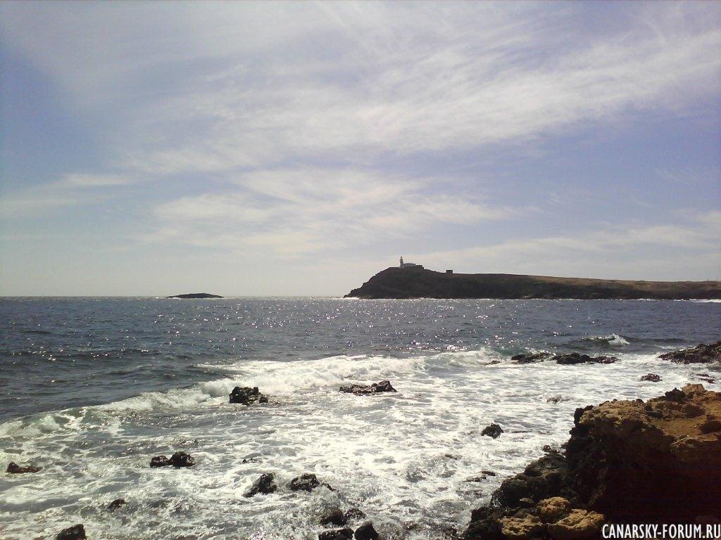 Playa El Cabrón, волны....
