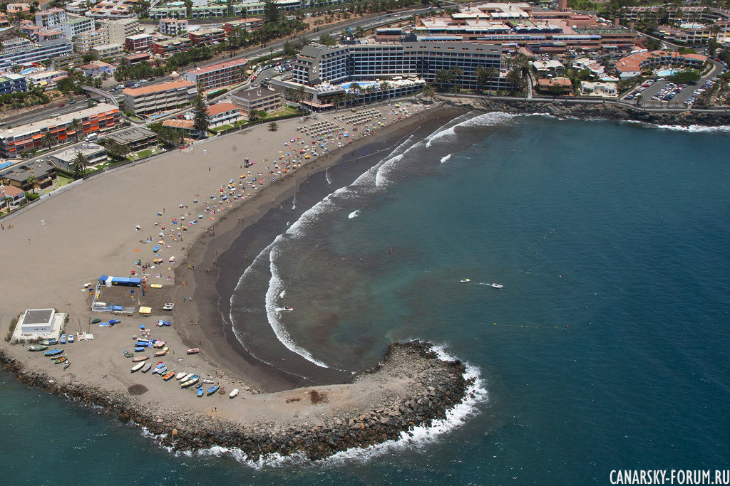 Пляж Las Burras, Сан Агустин