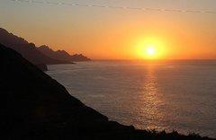 Западное побережье Гран Канарии. Закат