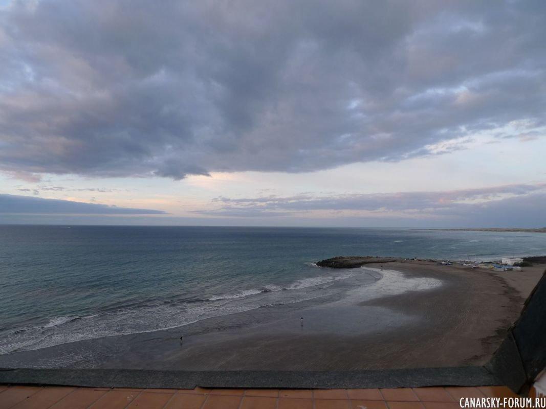 Лас Буррас, пляж у отеля Дунас Дон Грегори