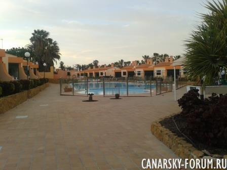 комплекс бунгало Castillo Playa