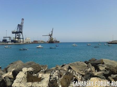 Порт в Пуэто-дель-Росарио
