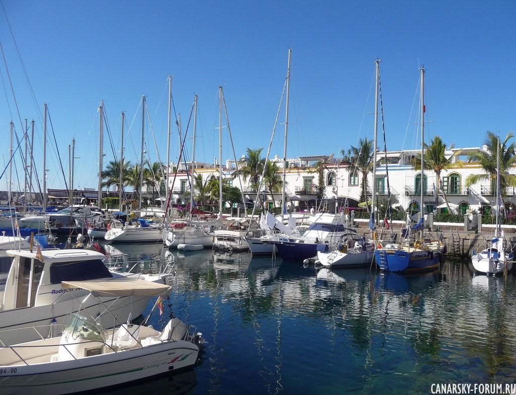 Городок-Курорт Puerto de Mogan (Пуэрто де Моган)