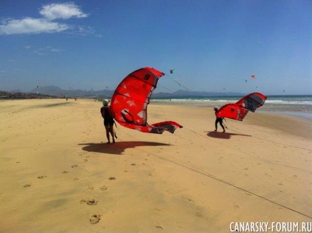 Sotavento - Playa de la Barca