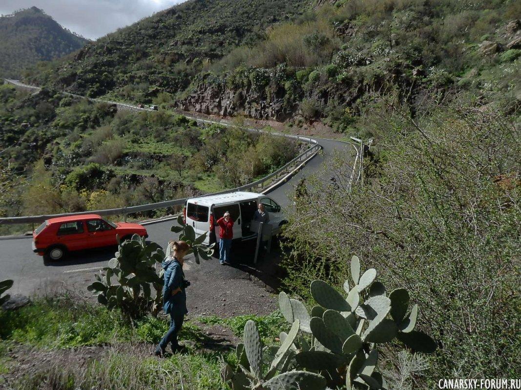 По дороге в горы...