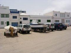Famara village