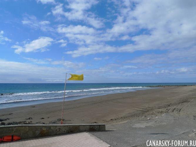 Пляж Сан-Агустин