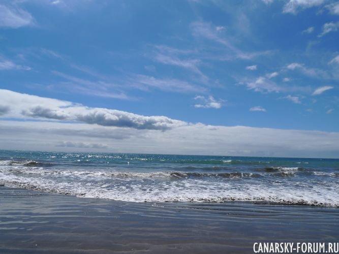 Пляж Лас Буррас, у отеля Дюнас Дон Грегори