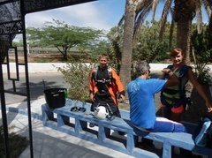 Подготовка к прыжку в аэроклубе...4