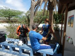Подготовка к прыжку в аэроклубе...3