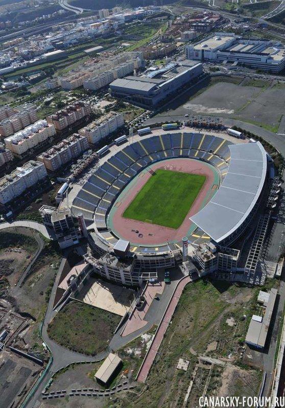 Стадион в Palmas Gran Canaria