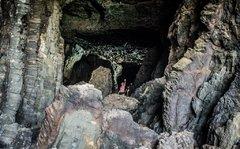 Пещеры в Ахуй